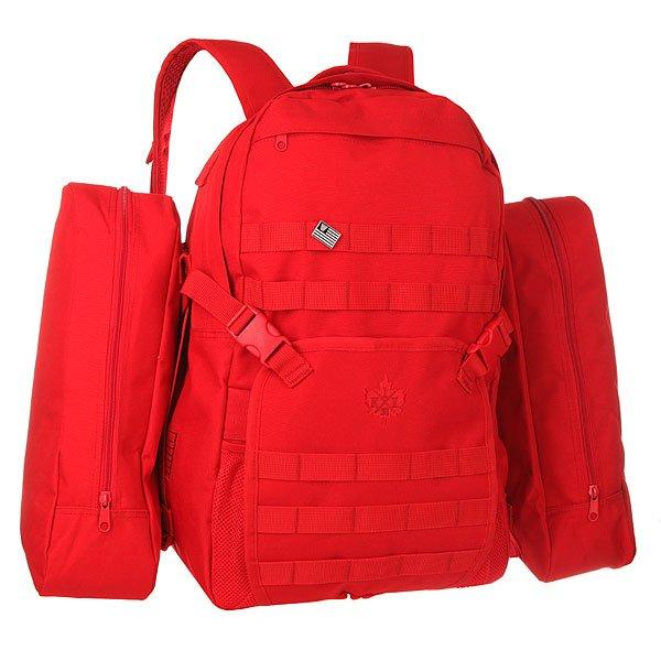 Рюкзак городской K1X On A Mission Backpack RedУниверсальный рюкзак - самый удобный аксессуар для людей ведущих активный образ жизни! Характеристики:Основное отделение с застежкой на молнию. Модель с двумя удобными регулируемыми лямками и удобной ручкой для переноски. Также предусмотрены два внешних боковых кармана на молнии.<br><br>Цвет: красный<br>Тип: Рюкзак городской<br>Возраст: Взрослый<br>Пол: Мужской