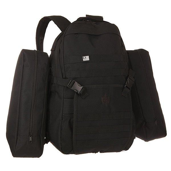 Рюкзак городской K1X On A Mission Backpack BlackУниверсальный рюкзак - самый удобный аксессуар для людей ведущих активный образ жизни! Характеристики:Основное отделение с застежкой на молнию. Модель с двумя удобными регулируемыми лямками и удобной ручкой для переноски. Также предусмотрены два внешних боковых кармана на молнии.<br><br>Цвет: черный<br>Тип: Рюкзак городской<br>Возраст: Взрослый<br>Пол: Мужской