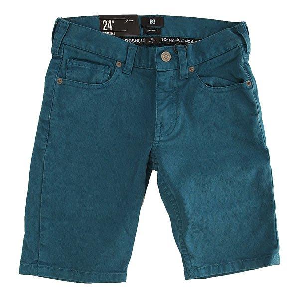 Шорты джинсовые детские DC Wkr Col Shor Bluesteel<br><br>Цвет: синий<br>Тип: Шорты джинсовые<br>Возраст: Детский