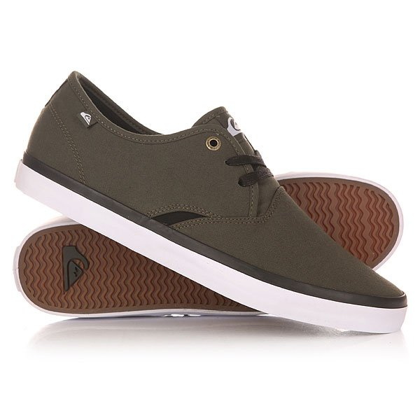 Кеды кроссовки низкие Quiksilver Shorebreak M Shoe Xggw Green/Green/White