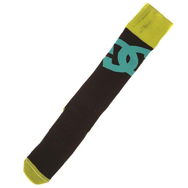 Гольфы DC Ski Snowboard Sock AnthraciteВысокие сноубордические носки от DC обеспечат Ваши ноги необходимыми компрессией и удобством во время катания. Специальные сетчатые вставки отводят лишнюю влагу, регулируя сухость и температуру внутри, тогда как уплотненные пятка и носок заботятся о зонах, на которые приходится наибольшее давление.Характеристики:Высокие носки. Широкий эластичный манжет. Уплотненные пятка и носок. Поддержка свода стопы. Сетчатые участки для вентиляции. Фирменный принт DC.<br><br>Цвет: черный,желтый<br>Тип: Гольфы<br>Возраст: Взрослый<br>Пол: Мужской