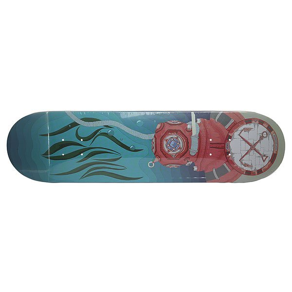 Дека для скейтборда для скейтборда Nord Vodolaz Denim/Beige 32 x 8.125 (20.6 см)