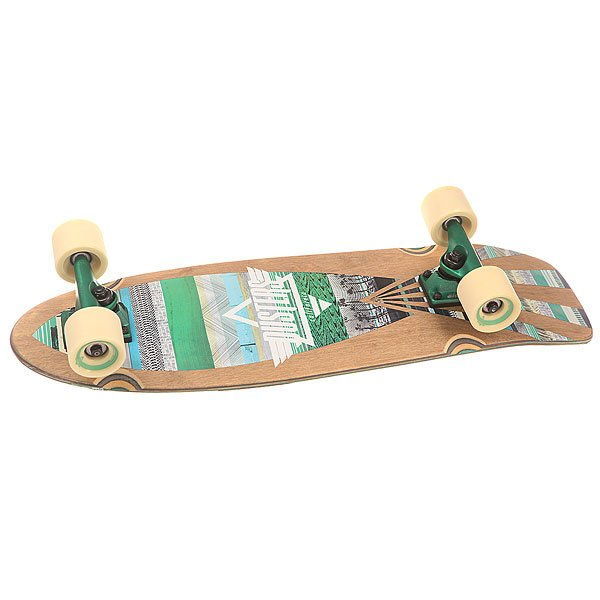 Скейт мини круизер Dusters S6 Cazh Cruiser Tribe 8.75 x 28.5 (72.4 см)