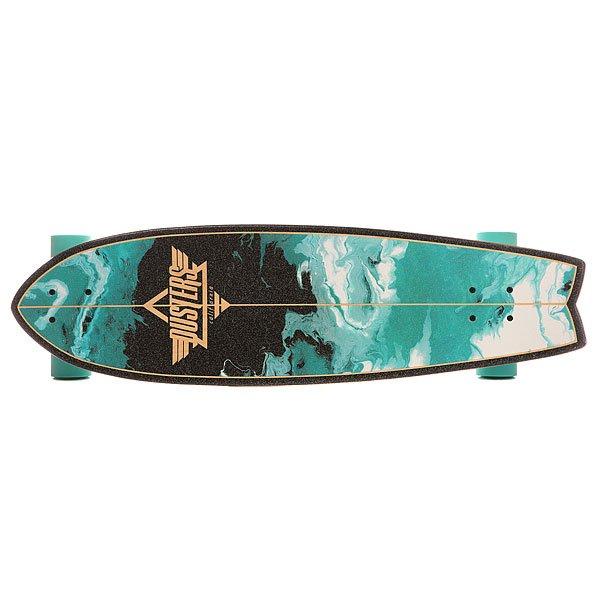 Скейт круизер Dusters Kosher Cruiser Turquoise 9.5 x 33 (84 см) от Proskater