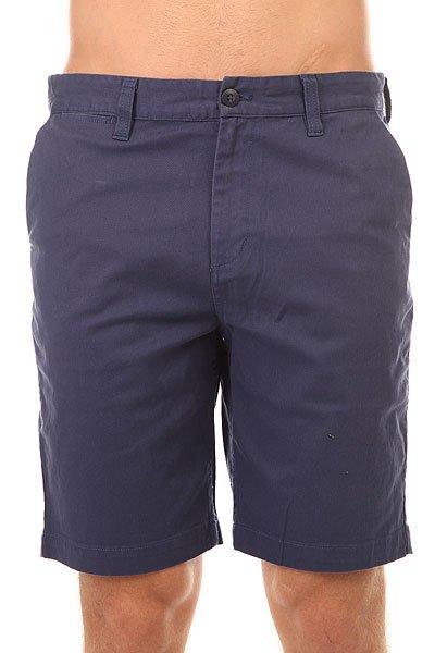 Шорты классические  DC Wrk Straight Shorts 20.5 Vintage Indigo<br><br>Цвет: синий<br>Тип: Шорты классические<br>Возраст: Взрослый<br>Пол: Мужской