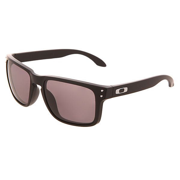 Очки Oakley Holbrook Matte Black/Warm Grey