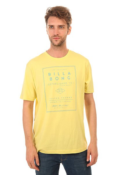 Футболка Billabong Divide Dust Yellow