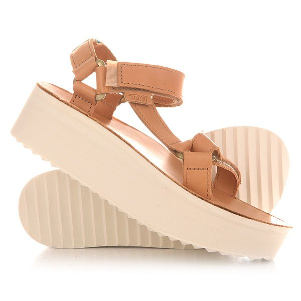 Сандалии женские Teva Flatform Universal Crafted Tan