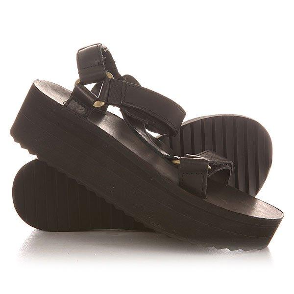 Сандалии женские Teva Flatform Universal Crafted Black<br><br>Цвет: черный<br>Тип: Сандалии<br>Возраст: Взрослый<br>Пол: Женский