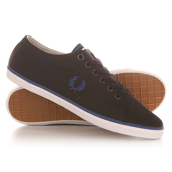 ���� ��������� ������ Fred Perry Kingston Twill Black/Blue
