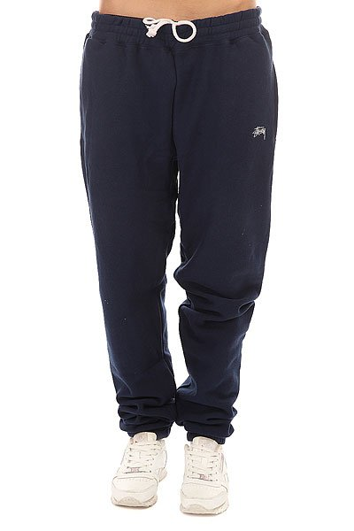 Штаны спортивные женские Stussy Stock Fleece Pant Navy