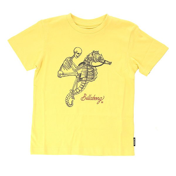 Футболка детская Billabong Fishbone Dusty Yellow