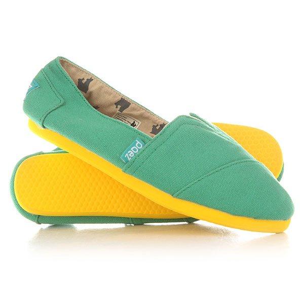 Эспадрильи женские Paez Happy Classics Borges GreenУдобная и легкая обувь на лето от аргентинского производителя - Paez. Стильные и качественные эспадрильи, с ортопедической стелькой, будут уместны при любой обстановке и станут отличным дополнением к Вашему гардеробу. Такая обувь отлично подойдет и для городских прогулок и для похода на пляж. Эспадрильи очень быстро сохнут и устойчивы к загрязнениям, что делает их универсальной обувью для всех!Характеристики:Быстро высыхают от влаги. Устойчивы к загрязнениям. Удобно снимаются и одеваются: вшитые резинки по бокам. Прочная отделка и качественные материалы.Удобная ортопедическая стелька из кожи с супинатором для поддержания свода стопы. Перфорация кожаной стельки обеспечивает дополнительную вентиляцию для Ваших ног. Двойная строчка с использованием прочной капроновой нити.Оплетка джутом.<br><br>Цвет: зеленый<br>Тип: Эспадрильи<br>Возраст: Взрослый<br>Пол: Женский