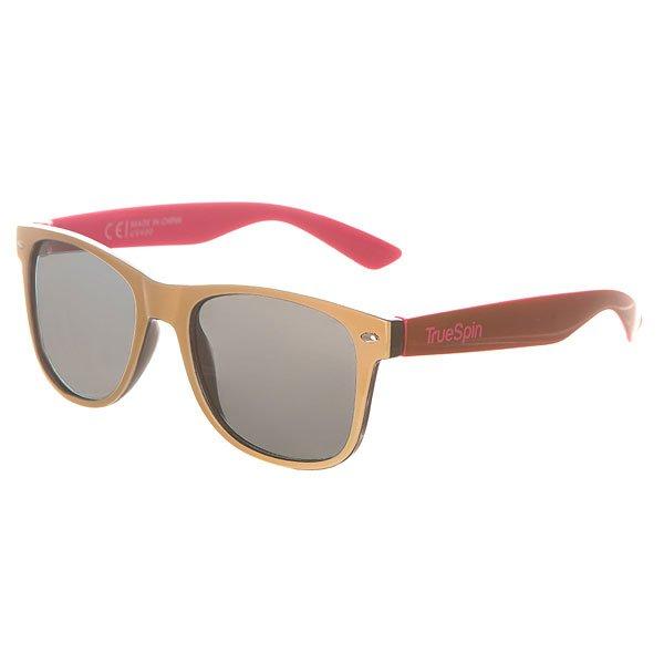Очки TrueSpin Hongkong Beige/Black/Brown/PinkСолнцезащитные очки от немецкого бренда True Spin, выполненные в классическом силуэте. В качестве основного материала используется пластик.Характеристики:Оправа из пластика. Петли из нержавеющей стали. Ударопрочные поликарбонатные линзы. 100% защита от ультрафиолета.<br><br>Цвет: черный,бежевый,бордовый,розовый<br>Тип: Очки<br>Возраст: Взрослый<br>Пол: Мужской