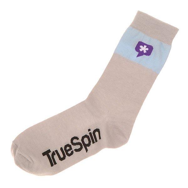 Носки средние TrueSpin Астриск Grey
