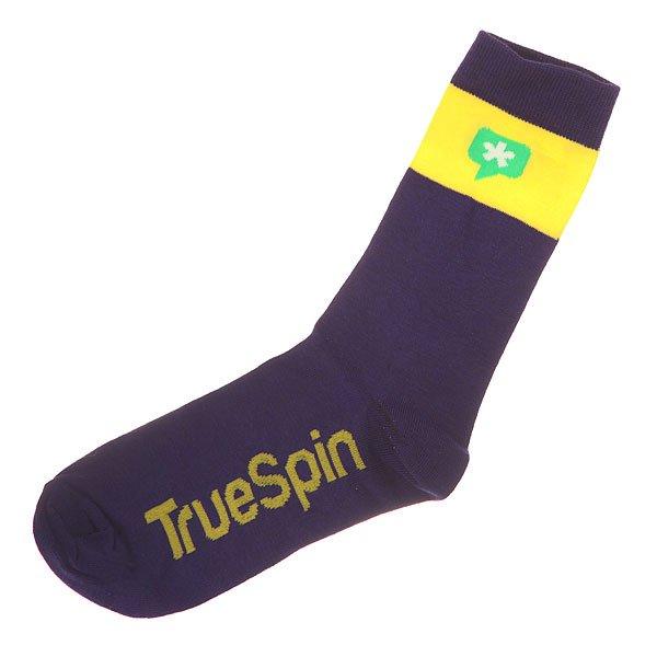 Носки средние TrueSpin Астриск Purple<br><br>Цвет: фиолетовый,желтый<br>Тип: Носки средние<br>Возраст: Взрослый<br>Пол: Мужской