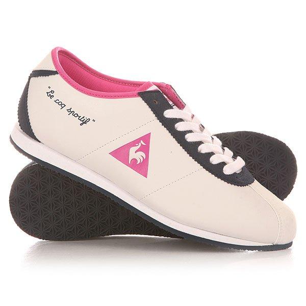 Кроссовки женские Le Coq Sportif Wendon  Suede White/Blue/Pink
