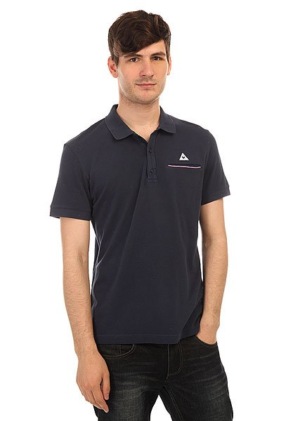 ���� Le Coq Sportif Partido Polo Dress Blues
