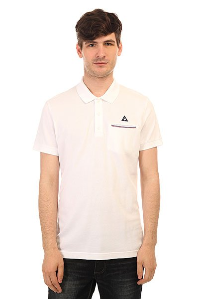 ���� Le Coq Sportif Partido Polo Optical White