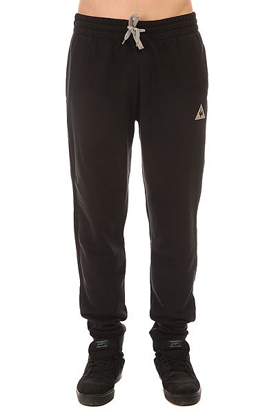 Штаны спортивные Le Coq Sportif Pant Bar Regular Unbr Black