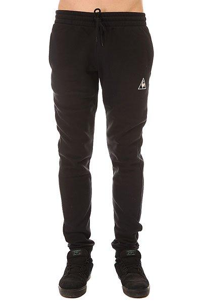 Штаны спортивные Le Coq Sportif Pant Bar Slim Brushed Black<br><br>Цвет: черный<br>Тип: Штаны спортивные<br>Возраст: Взрослый<br>Пол: Мужской