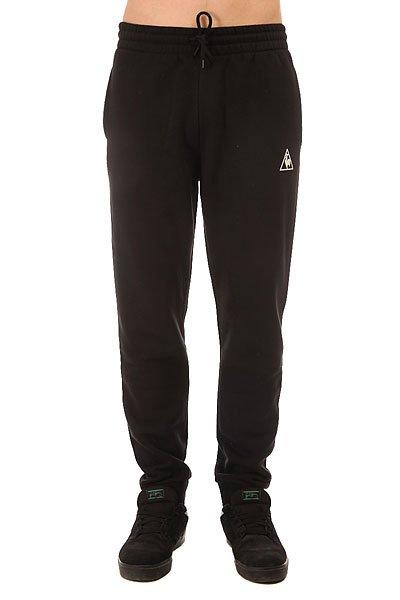 Штаны спортивные Le Coq Sportif Pant Bar Regular Brushed Black