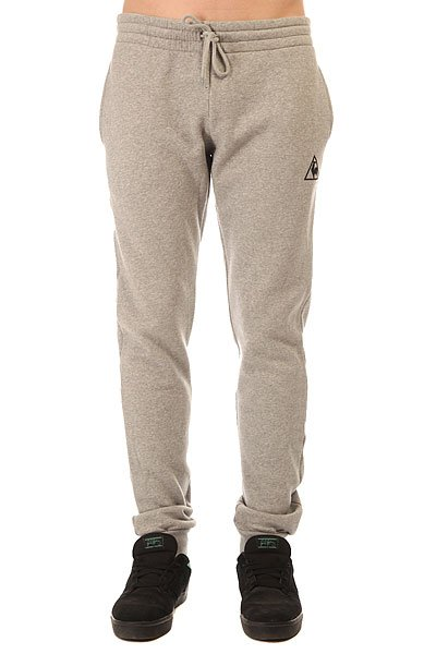Штаны спортивные Le Coq Sportif Pant Bar Slim Brushed Light Heather