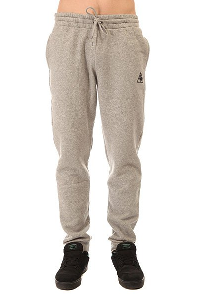 Штаны спортивные Le Coq Sportif Pant Bar Regular Brushed Light Heather