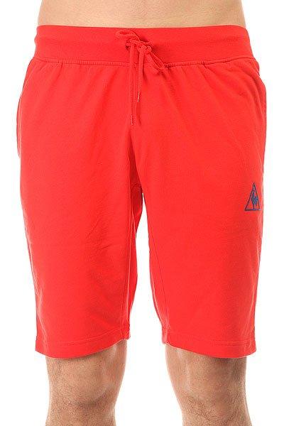 ����� ������������ Le Coq Sportif Pant Bar Short Bright Red
