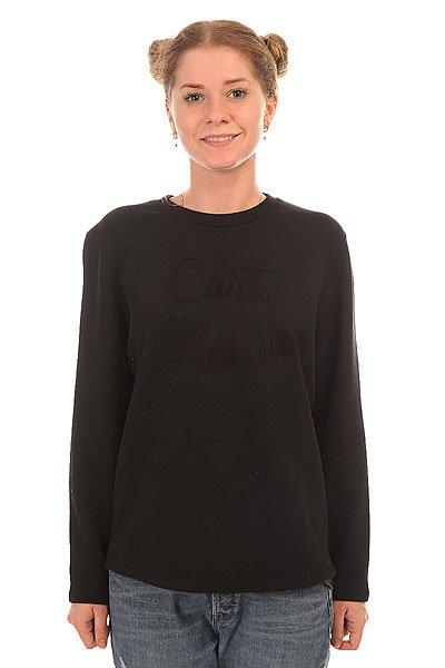 Толстовка классическая женская Le Coq Sportif Marilia Crew Sweat Black<br><br>Цвет: черный<br>Тип: Толстовка классическая<br>Возраст: Взрослый<br>Пол: Женский