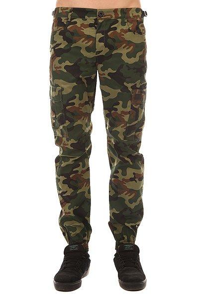Штаны прямые Skills Chino Pockets Strap Street Camo<br><br>Цвет: зеленый,коричневый,черный<br>Тип: Штаны прямые<br>Возраст: Взрослый<br>Пол: Мужской