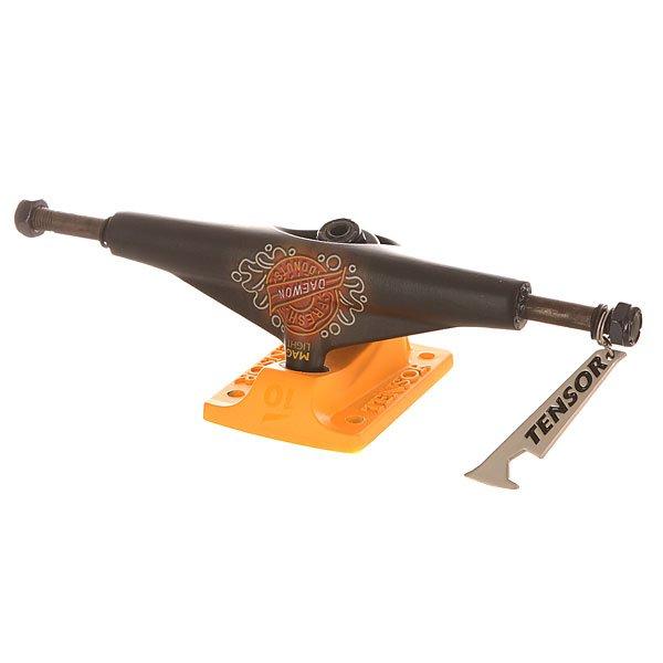 Подвеска для скейтборда Tensor Mag Light Lo Neon Donuts Daewon 5.5 (21 см)Ширина подвесок: 5.5 (21 см)    Высота подвесок: 50 мм    Цена указана за 1 шт<br><br>Цвет: черный,оранжевый<br>Тип: Подвеска для скейтборда<br>Возраст: Взрослый<br>Пол: Мужской