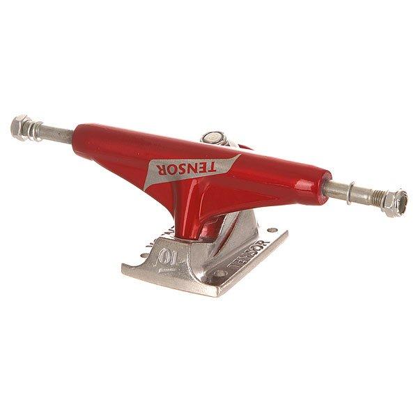 Фото Подвеска для скейтборда Tensor Alum Reg Switch Red/Raw 5.25 (20.3 см). Купить с доставкой