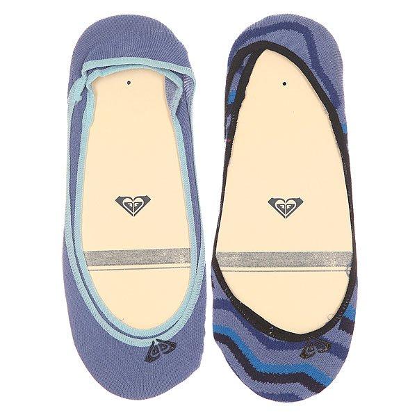Носки низкие женские Roxy Sneakers Copen Blue<br><br>Цвет: голубой,синий<br>Тип: Носки низкие<br>Возраст: Взрослый<br>Пол: Женский