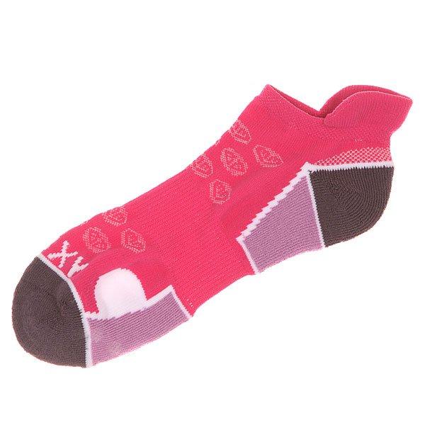 Носки низкие женские Roxy Ns Bright Orchid<br><br>Цвет: розовый,фиолетовый<br>Тип: Носки низкие<br>Возраст: Взрослый<br>Пол: Женский