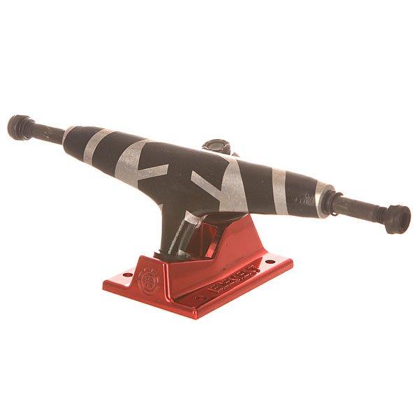 Подвеска для скейтборда Element Full Tree Burgundy/Black/Grey 5.5 (21 см)Ширина подвески: 5.5 (21 см)    Высота подвески: 57 мм    Цена указана за 1 шт Подвеска для скейтборда.Технические характеристики: Ширина 13,97 см.Подходят для деки шириной от 20,6 см до 21,6 см.Оригинальная графика от Element.<br><br>Цвет: черный,серый,бордовый<br>Тип: Подвеска для скейтборда<br>Возраст: Взрослый<br>Пол: Мужской