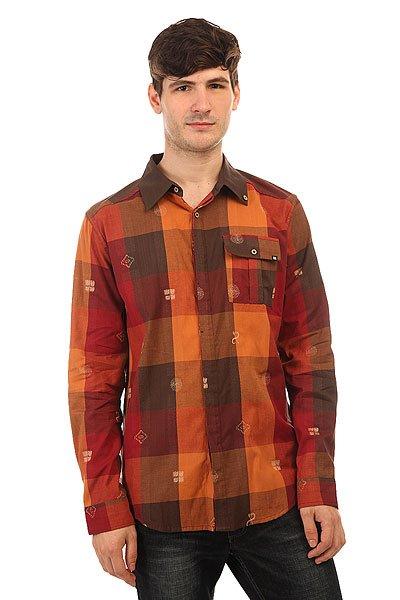 Рубашка в клетку Insight Hipocrisy Fossil Brown<br><br>Цвет: коричневый<br>Тип: Рубашка в клетку<br>Возраст: Взрослый<br>Пол: Мужской