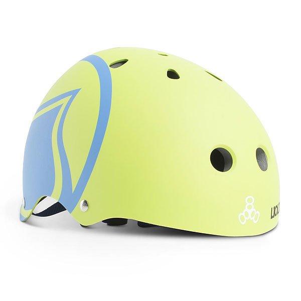 Водный шлем Liquid Force Helmet Hero Green/Blue