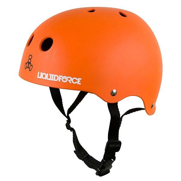 Водный шлем Liquid Force Icon OrangeКлассическая форма, яркий цвет и логотип Liquid Force - это шлем Icon, которые не станет в воде тяжелее, чем был на суше. Характеристики:Корпус из пластика ABS повышенной плотности. Закрытая пенная подкладка двойной плотности, не впитывает воду, а шлем остается легким. Подкладка из материала Pro-Dri Plus, отталкивает влагу и обеспечивает комфортную посадку на голове. Соответствуетстандарту CE EN 1385 для водных видов спорта.<br><br>Цвет: оранжевый<br>Тип: Водный шлем<br>Возраст: Взрослый<br>Пол: Мужской