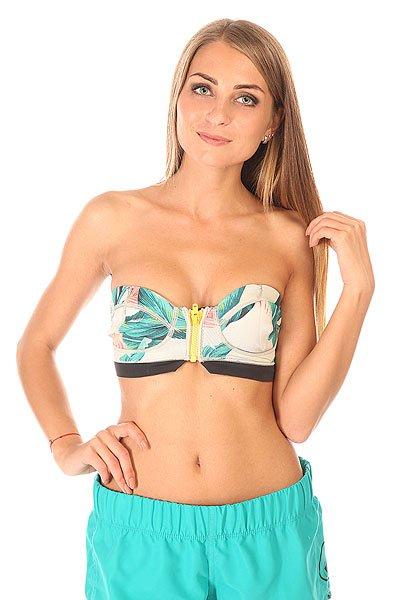 Бюстгальтер женский Billabong Surf Capsule Keep It Tropical<br><br>Цвет: мультиколор<br>Тип: Бюстгальтер<br>Возраст: Взрослый<br>Пол: Женский