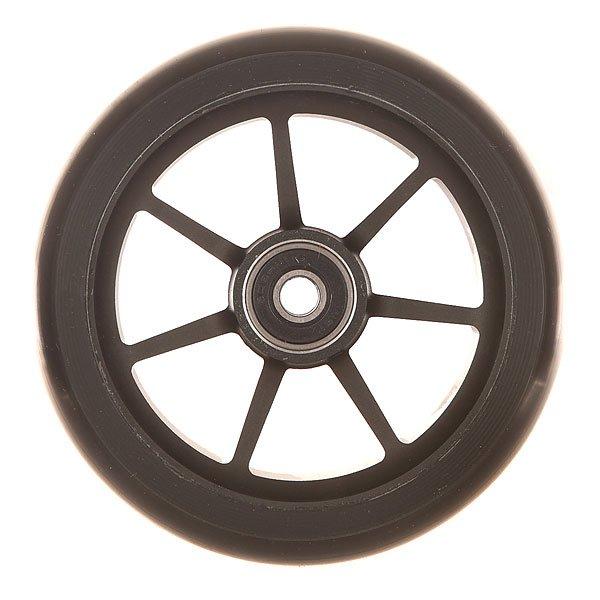 Колесо для самоката Ethic Incube Wheel 110 Mm BlackПростые и эффективные колеса из алюминиевого сплава и уретана.Технические характеристики: Алюминиевый сплав 6061 T6 и уретан.Жесткость 88А.Диаметр 110 мм.Вес  188 г.<br><br>Цвет: черный<br>Тип: Колесо для самоката<br>Возраст: Взрослый<br>Пол: Мужской
