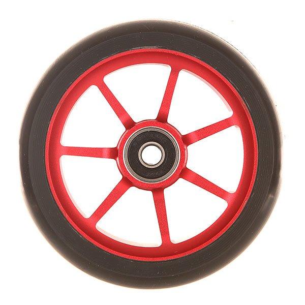 Колесо для самоката Ethic Incube Wheel 110 Mm RedПростые и эффективные колеса из алюминиевого сплава и уретана.Технические характеристики: Алюминиевый сплав 6061 T6 и уретан.Жесткость 88А.Диаметр 110 мм.Вес  188 г.<br><br>Цвет: черный,красный<br>Тип: Колесо для самоката<br>Возраст: Взрослый<br>Пол: Мужской