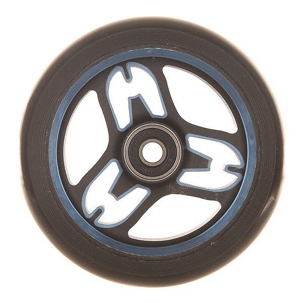 Колесо для самоката Ethic Eponymous Wheel 110 Mm 88a BlueЛегкие, стабильные и эффективные колеса из прочного алюминия 6082.Технические характеристики: Алюминиевый сплав 6082 T6 и уретан.Жесткость 88А.Диаметр 110 мм.Вес  218 г.<br><br>Цвет: синий,черный<br>Тип: Колесо для самоката<br>Возраст: Взрослый<br>Пол: Мужской