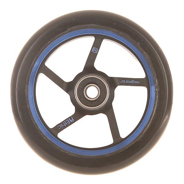 Колесо для самоката Ethic Mogway Wheel 110 Mm BlueЛегкие, стабильные и эффективные колеса из прочного алюминия 6082.Технические характеристики: Алюминиевый сплав 6082 T6 и уретан.Жесткость 88А.Диаметр 110 мм.Вес  185 г.<br><br>Цвет: черный,синий<br>Тип: Колесо для самоката<br>Возраст: Взрослый<br>Пол: Мужской