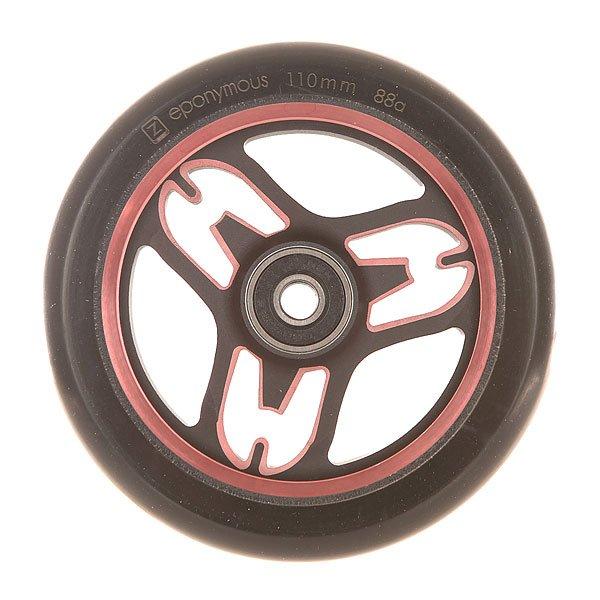 Колесо для самоката Ethic Eponymous Wheel 110 Mm 88a RedЛегкие, стабильные и эффективные колеса из прочного алюминия 6082.Технические характеристики: Алюминиевый сплав 6082 T6 и уретан.Жесткость 88А.Диаметр 110 мм.Вес  218 г.<br><br>Цвет: черный,бордовый<br>Тип: Колесо для самоката<br>Возраст: Взрослый<br>Пол: Мужской