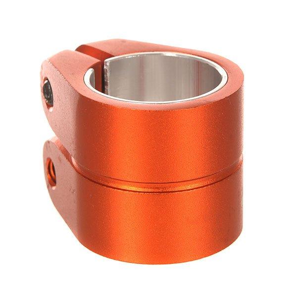 Зажимы Phoenix Smooth Double Bolt Clamp 1.5 Hiten M8 Allen Bolt Ano 021 U OrangeУниверсальный двойной зажим с болтами HiTen М8, который можно использовать как со стандартным, так и с негабаритным рулем. Характеристики:Подходит для стандартного и негабаритного руля. Шестигранные болты HiTen M8. Логотип.<br><br>Цвет: оранжевый<br>Тип: Зажимы<br>Возраст: Взрослый<br>Пол: Мужской