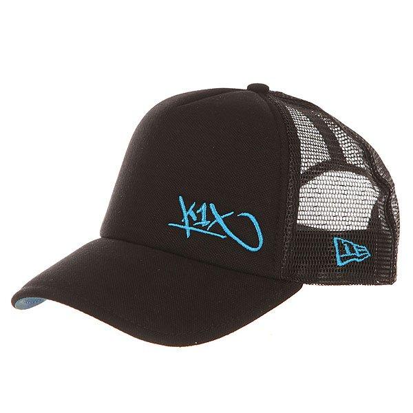 Бейсболка с сеткой K1X Flawless Tag Pique Trucker NavyМужская бейсболка с панелью из дышащей сетки со стильным вышитым логотипом K1X.Технические характеристики: Задняя панель из сетки для лучшего воздухообмена.Пластиковая застежка с регулировкой.Козырек с двухсторонней отделкой.Вышитый логотип K1X и NEW ERA.<br><br>Цвет: синий<br>Тип: Бейсболка с сеткой<br>Возраст: Взрослый<br>Пол: Мужской
