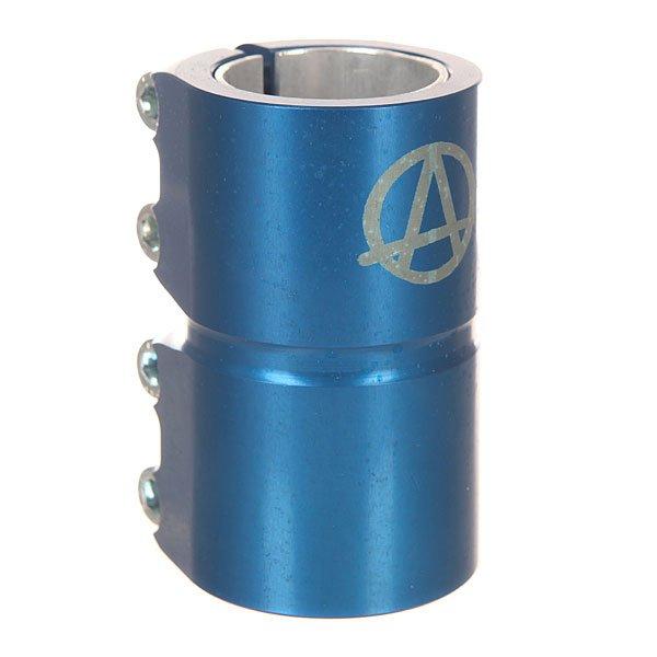 Зажимы Apex Scs V3 BlueЧетырёхболтовый зажим для SCS-системы.Характеристики:Доступен в цветовых вариантах. В комплекте имеется проставка для рулей стандартного диаметра 31,8 мм. Доступен в 3 цветовых вариантах. Материал: 90% алюминий, 10% сталь.<br><br>Цвет: синий<br>Тип: Зажимы<br>Возраст: Взрослый<br>Пол: Мужской
