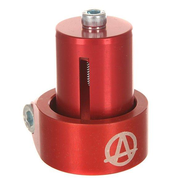 Зажимы Apex Hic Mono Kit Red рулевая apex bol bars hic chrome