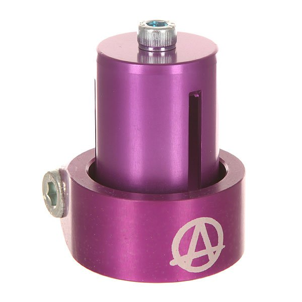 Зажимы Apex Hic Mono Kit Purple рулевая apex bol bars hic chrome